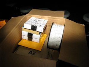 Wie Amazon Festplatten verpackt…